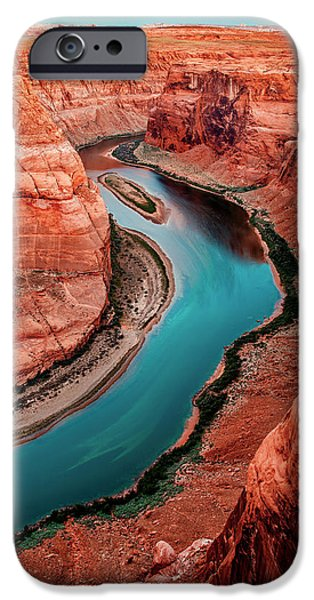 Epic iPhone Cases - Colorado River Bend iPhone Case by Az Jackson