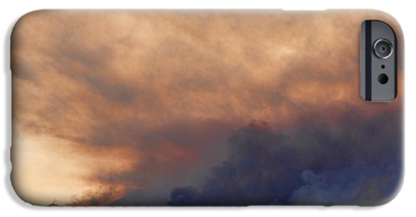 Colorado Fires iPhone Cases - Colorado Rockies on Fire iPhone Case by James BO  Insogna