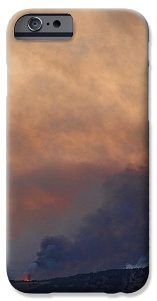 Colorado Rockies on Fire iPhone Case by James BO  Insogna