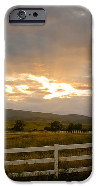 Colorado Rocky Mountain Country Sunset iPhone Case by James BO  Insogna