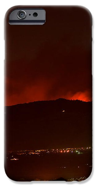 Colorado WildFire Fourmile Canyon aka Labor Day Fire iPhone Case by James BO  Insogna
