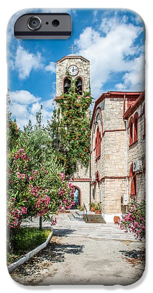 Building iPhone Cases - Colorful Church iPhone Case by Roy Pedersen