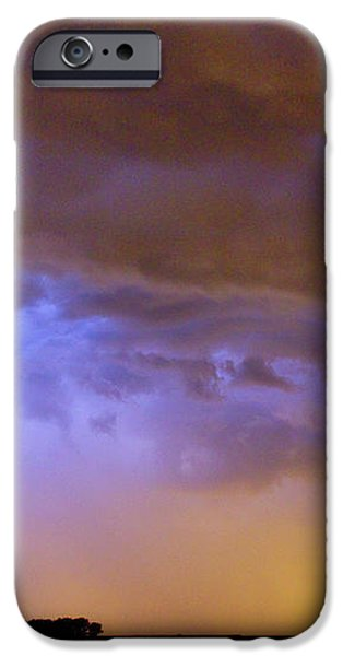 Colorful Cloud to Cloud Lightning Stormy Sky iPhone Case by James BO  Insogna