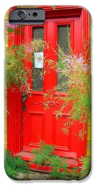 Colorful Entrance ... iPhone Case by Juergen Weiss