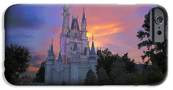 Magic Kingdom iPhone Cases - Colorful Magic iPhone Case by Ryan Crane
