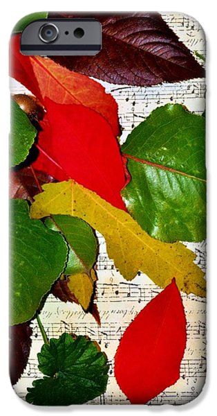 Michelle iPhone Cases - Colorful Music iPhone Case by Michelle McPhillips