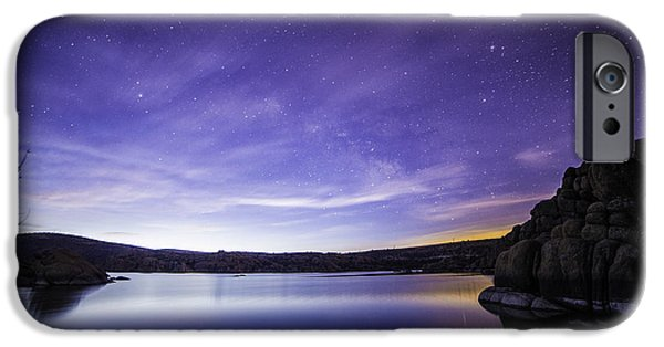 Prescott iPhone Cases - Colorful Place iPhone Case by Bill Cantey