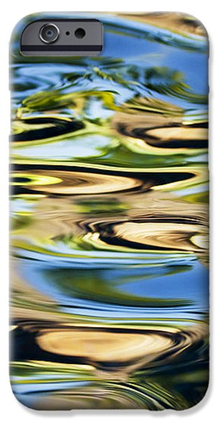 Colorful Water Ripples iPhone Case by Dave Fleetham - Printscapes
