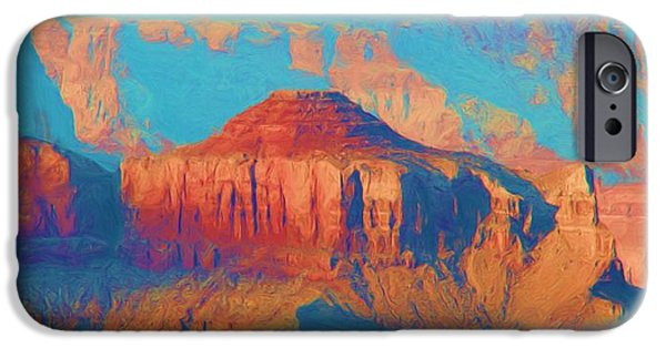 Grand Canyon iPhone Cases - Colors Of The Southwest - Grand Canyon iPhone Case by Heidi Smith
