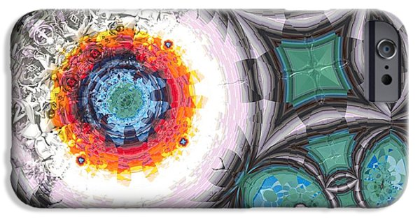 Contemporary Abstract iPhone Cases - Colour Decomposition - n iPhone Case by Jacob Bettany