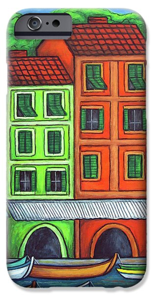 Colours of Liguria iPhone Case by Lisa  Lorenz