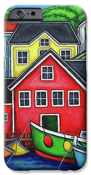 Colours of Lunenburg iPhone Case by Lisa  Lorenz