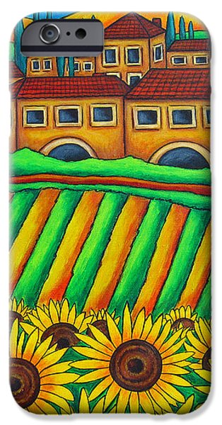 Colours of Tuscany iPhone Case by Lisa  Lorenz