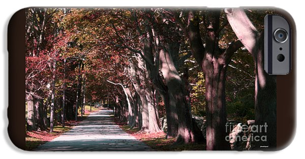 Autumn Scenes iPhone Cases - Colt State Park Bristol Rhode Island iPhone Case by Tom Prendergast