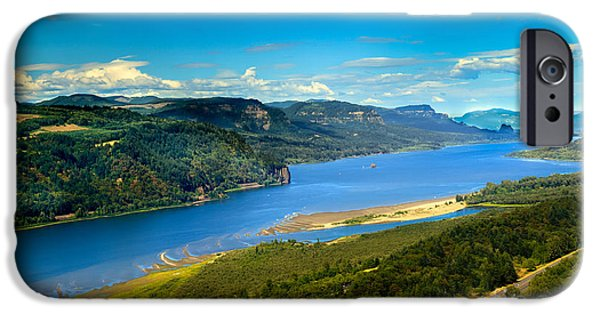 River View iPhone Cases - Columbia River Gorge  iPhone Case by Robert Bales