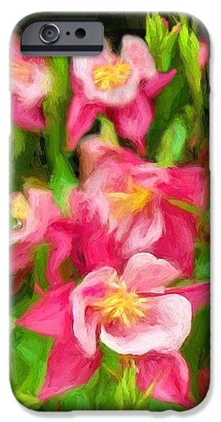 Central Massachusetts iPhone Cases - Columbine in the Quabbin iPhone Case by Mitchell R Grosky