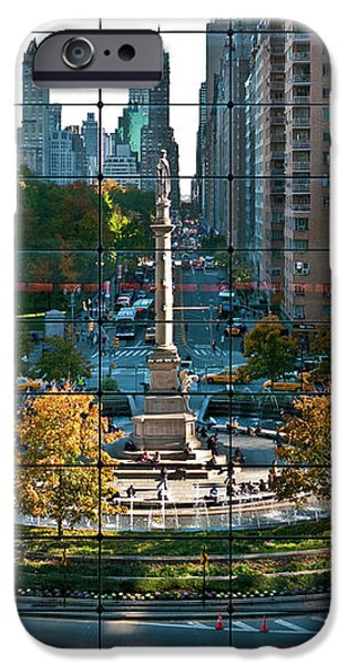 Columbus Circle iPhone Case by S Paul Sahm