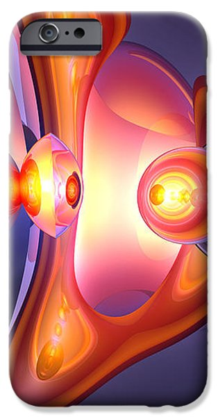 Combustion Abstract iPhone Case by Alexander Butler