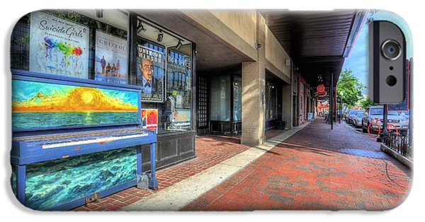 Recently Sold -  - Piano iPhone Cases - Come Play on Palafox iPhone Case by JC Findley