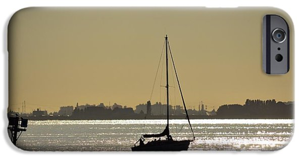 Sailboat Ocean iPhone Cases - Come Sail With Me iPhone Case by Turtle Shoaf
