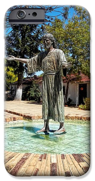 Jesus Walking On Water iPhone Cases - Come Unto Me - Jesus iPhone Case by Glenn McCarthy