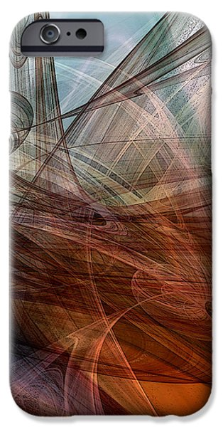 Complex Decisions iPhone Case by Ruth Palmer