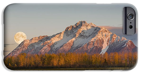 Pioneer Scene iPhone Cases - Composite  Scenic Sunset View iPhone Case by Ray Bulson