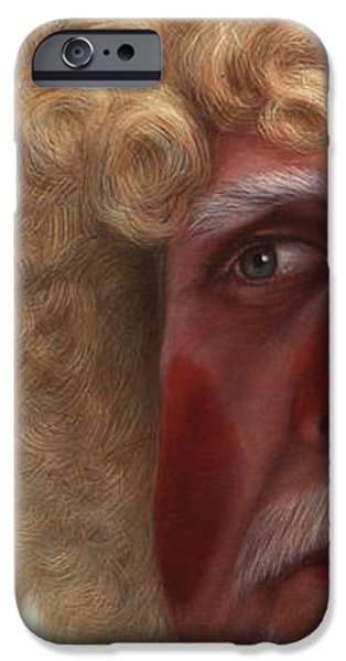 Concerned iPhone Case by James W Johnson