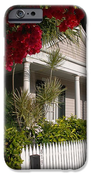 Conch House in Key West iPhone Case by Susanne Van Hulst