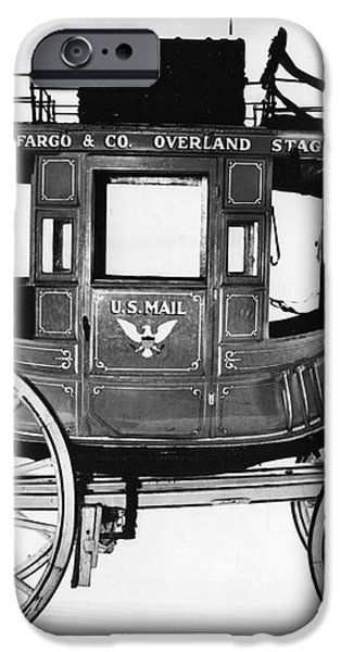 Concord Stagecoach iPhone Case by Photo Researchers, Inc.