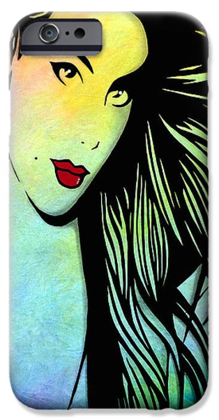 Contemporary Abstract iPhone Cases - Condition iPhone Case by Tom Fedro - Fidostudio