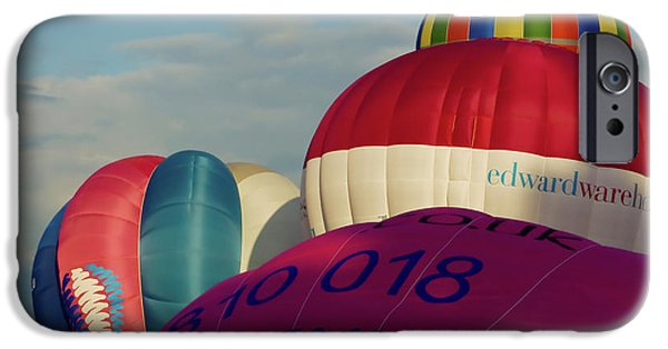 Hot Air Balloon iPhone Cases - Congestion iPhone Case by Brian Roscorla