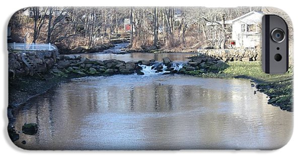 The White House Photographs iPhone Cases - Connecticut Babbling Brook iPhone Case by John Telfer