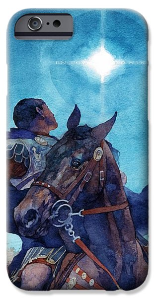 The Horse iPhone Cases - Constantine on the March iPhone Case by Greg Harlin