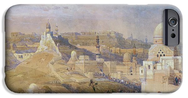 1796 iPhone Cases - Constantinople iPhone Case by David Roberts