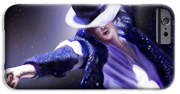 King Of Pop iPhone Cases - Constellation - Slot 89 iPhone Case by Reggie Duffie