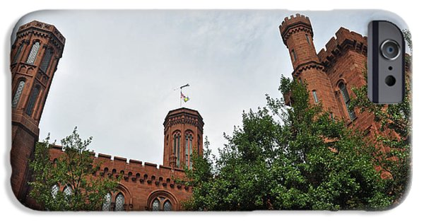 Smithsonian iPhone Cases - Converging Castle iPhone Case by Teresa Blanton