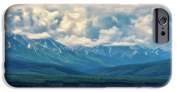 One iPhone Cases - Cook Inlet Alaska iPhone Case by Dee Browning