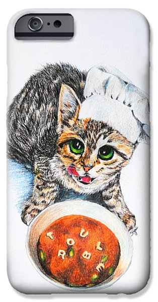 Cookin' Up Trouble iPhone Case by Jai Johnson