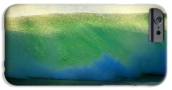 Marine iPhone Cases - Cooling Sea Spray iPhone Case by Dianne Cowen