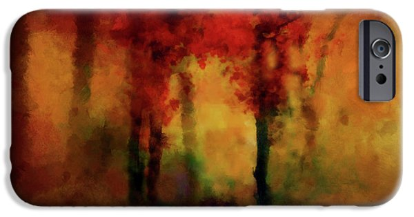 Buy iPhone Cases - Coppery Woodland iPhone Case by Valerie Anne Kelly