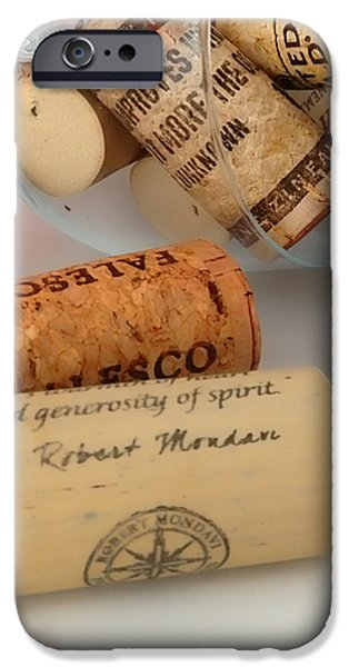Corks iPhone Case by Cheryl Young