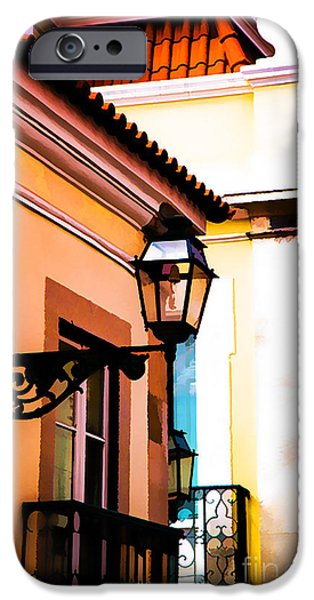 Balcony iPhone Cases - Corner Balconies iPhone Case by Rick Bragan