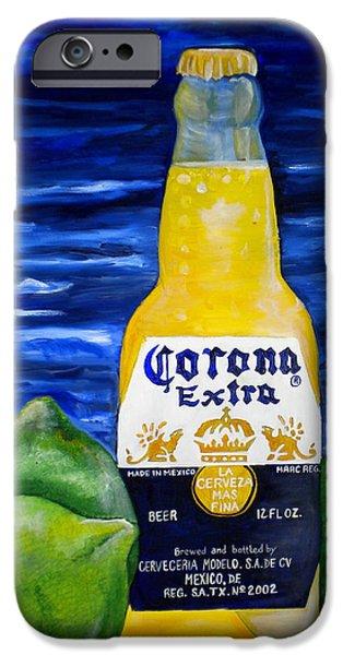 Corona iPhone Case by Patti Schermerhorn