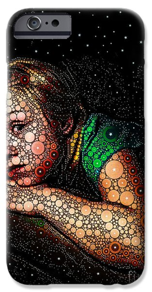 Cosmic Dust iPhone Case by Ron Bissett
