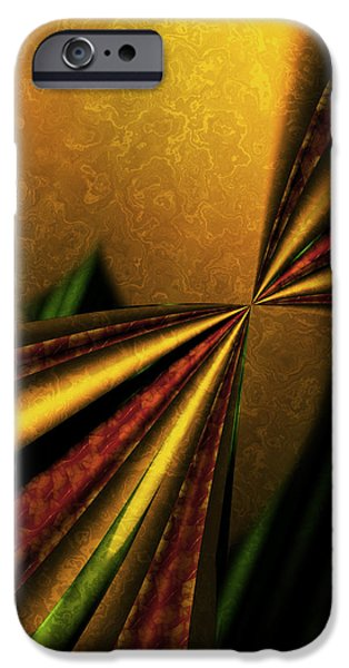 Counterpoint iPhone Cases - Counterpoint 1 - Abstract Art iPhone Case by Vic Eberly
