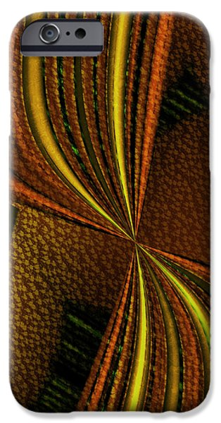 Counterpoint iPhone Cases - Counterpoint 2 - Abstract Art iPhone Case by Vic Eberly