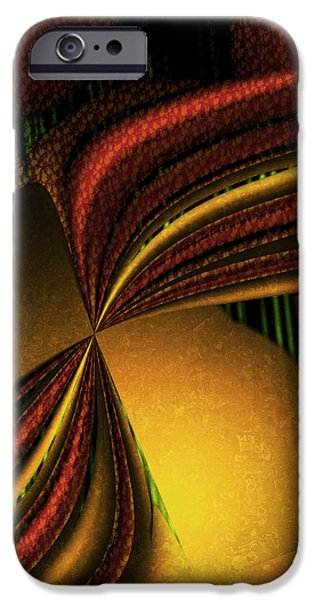 Counterpoint iPhone Cases - Counterpoint 4 - Abstract Art iPhone Case by Vic Eberly