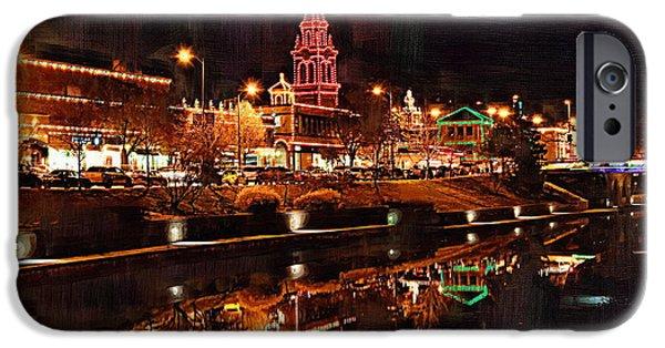 Missouri iPhone Cases - Country Club Plaza Lights Kansas City Missouri iPhone Case by Joseph Ventura