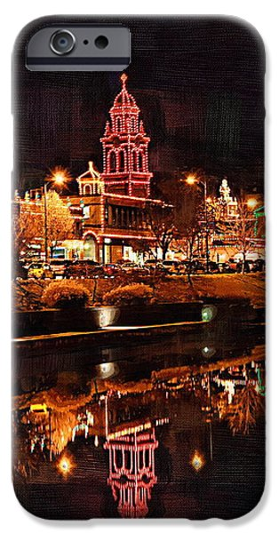 Country Club Plaza Lights Kansas City Missouri iPhone Case by Joseph Ventura